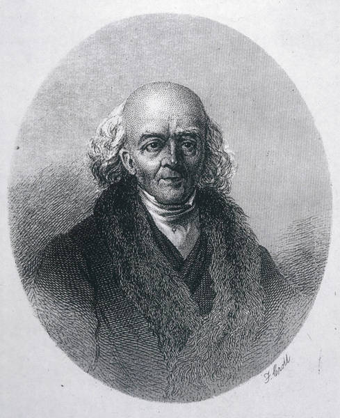 Homeopathy Drawing - Samuel Hahnemann  Founder Of Homeopathy by Mary Evans Picture Library