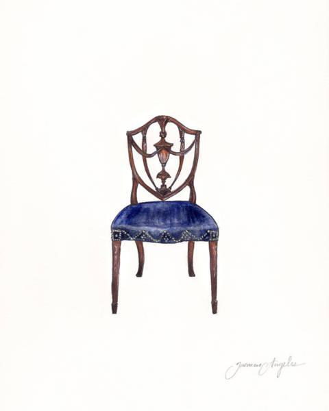 Girly Painting - Samuel Mcintire Chair by Jazmin Angeles