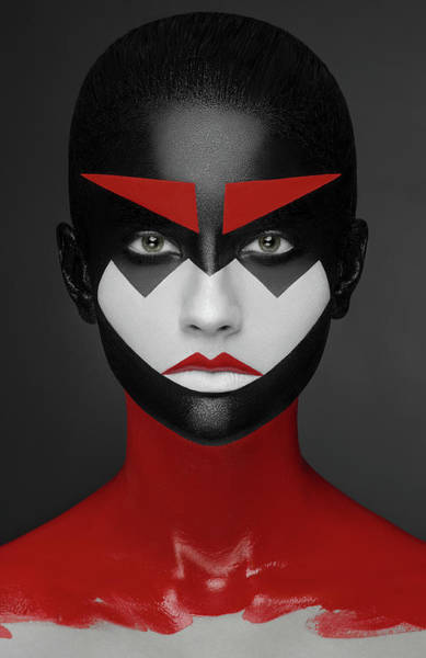 Selective Color Photograph - Samurai by Alex Malikov