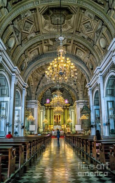 Wall Art - Photograph - San Agustin Church  by Adrian Evans