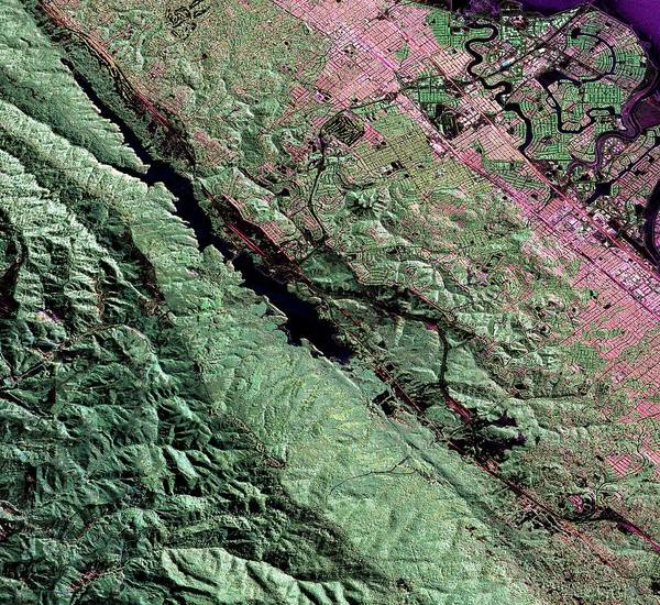 Wall Art - Photograph - San Andreas Fault by Nasa/jpl/science Photo Library