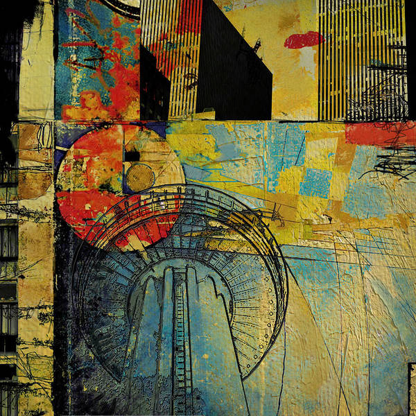 Multi Wall Art - Painting - San Antonio 004 A by Corporate Art Task Force
