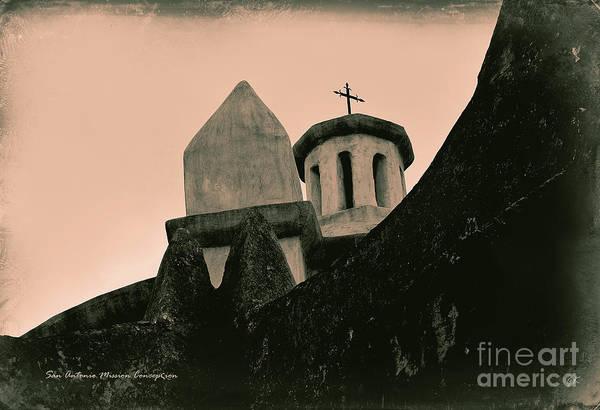 Photograph - San Antonio Mission Concepcion by Gerlinde Keating - Galleria GK Keating Associates Inc