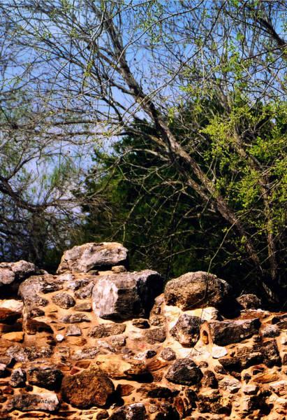 Photograph - Mission San Juan Capistrano In San Antonio Texas by Gerlinde Keating - Galleria GK Keating Associates Inc
