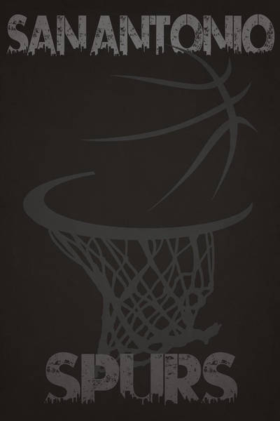San-antonio Photograph - San Antonio Spurs Hoop by Joe Hamilton