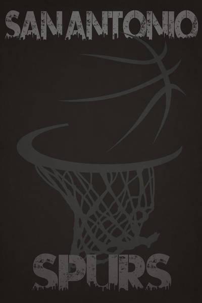 San Antonio Photograph - San Antonio Spurs Hoop by Joe Hamilton