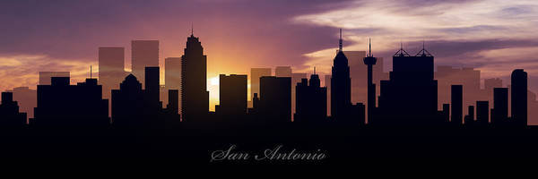 San-antonio Photograph - San Antonio Sunset by Aged Pixel