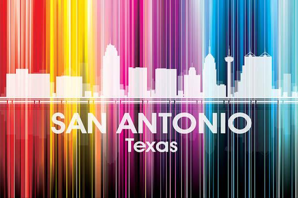 Metropolis Mixed Media - San Antonio Tx 2 by Angelina Tamez
