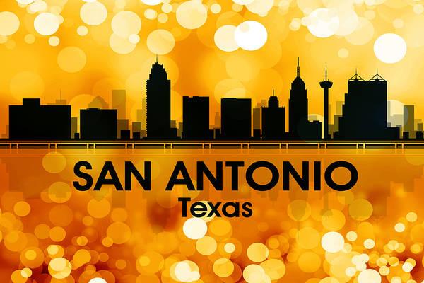 Metropolis Mixed Media - San Antonio Tx 3 by Angelina Tamez