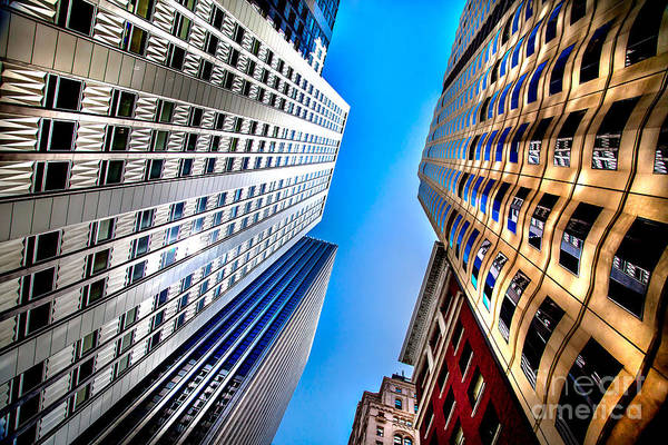 Office Buildings Wall Art - Photograph - San Central 3 by Az Jackson