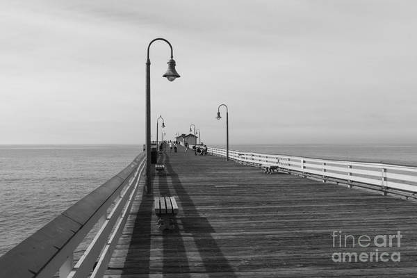 Photograph - San Clemente Pier by Ana V Ramirez