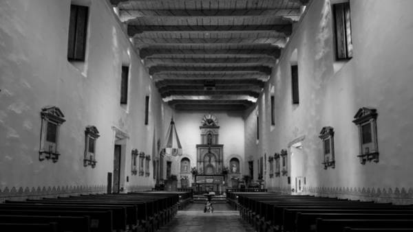 California Mission Photograph - Sanctuary - San Diego De Alcala by Stephen Stookey