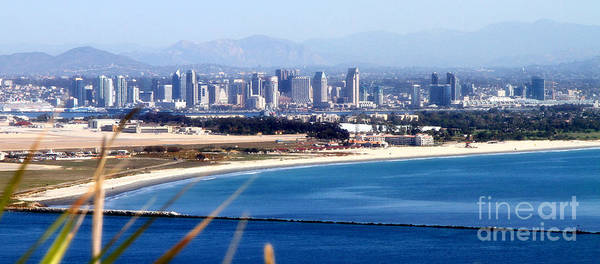 Photograph - San Diego From Point Loma By Diana Sainz by Diana Raquel Sainz