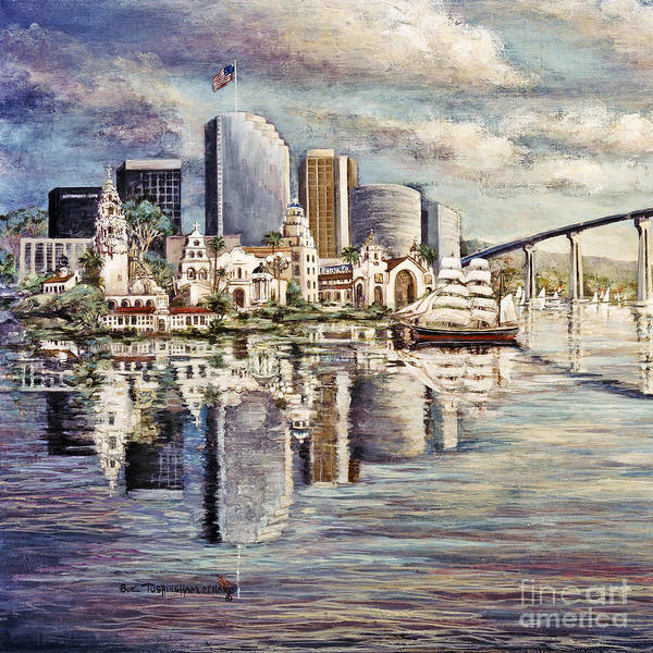 Painting - San Diego Heritage by Glenn McNary