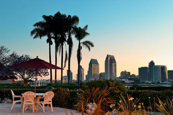 Photograph - San Diego Morning by Songquan Deng