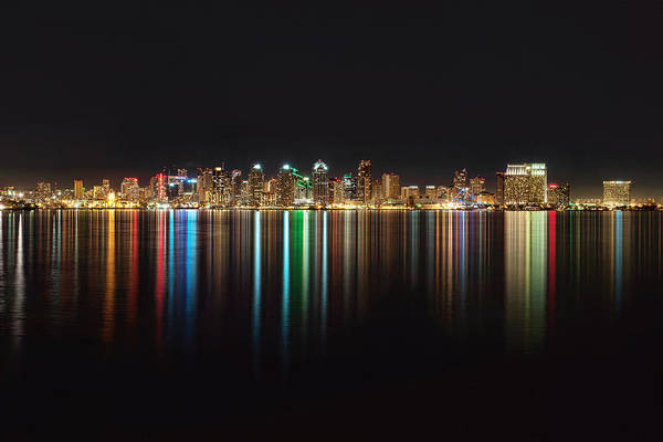Photograph - San Diego Reflections by Mark Whitt