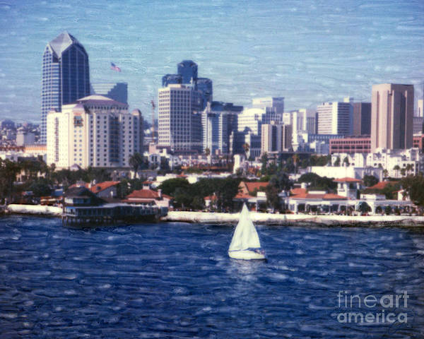 San Diego Seaport Village Art Print