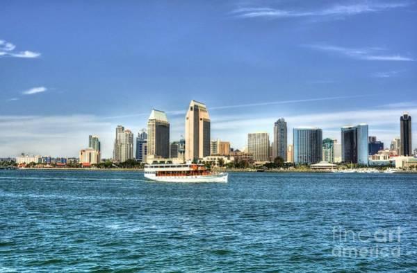 Photograph - San Diego Skyline 2 by Mel Steinhauer