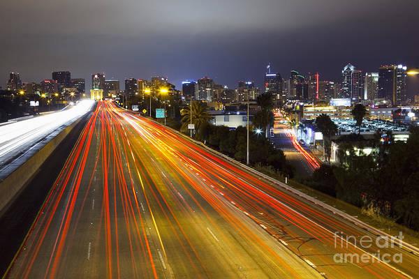 Photograph - San Diego Skyline by Bryan Mullennix