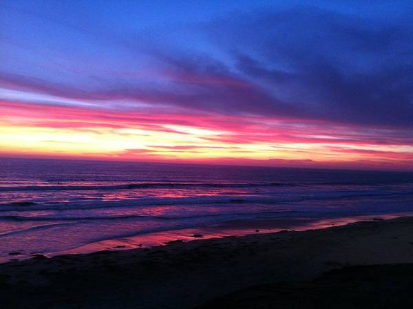Photograph - San Diego Sunset Unedited by Angela Bushman