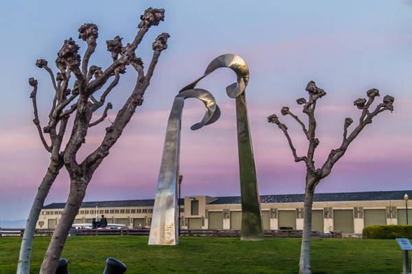 Photograph - San Fancisco Sculpture by Ron Pate