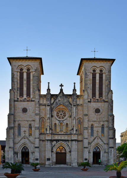 Photograph - San Fernando Cathedral - San Antonio Tx by Christine Till