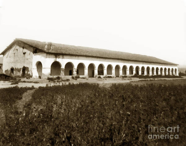Photograph - San Fernando Mission Circa 1900 by California Views Archives Mr Pat Hathaway Archives