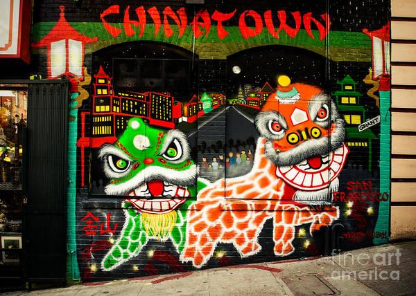 Chinese New Year Photograph - San Fran China Town by Sonja Quintero