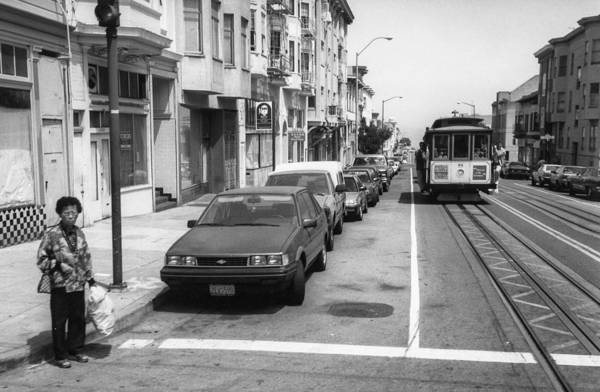 Photograph - San Francisco 1990 by Frank Winters
