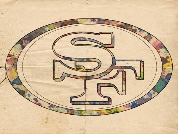 Painting - San Francisco 49ers Poster Art by Florian Rodarte