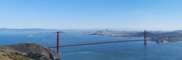 Sausalito Wall Art - Photograph - San Francisco And The Golden Gate Bridge by Twenty Two North Photography