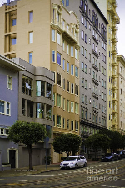 Photograph - San Francisco Architecture by Richard J Thompson