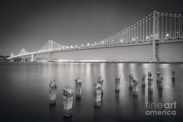 Wall Art - Photograph - San Francisco Bay Bridge by Colin and Linda McKie
