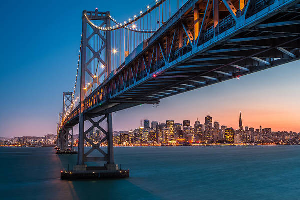 Photograph - San Francisco Bay Bridge by Mihai Andritoiu
