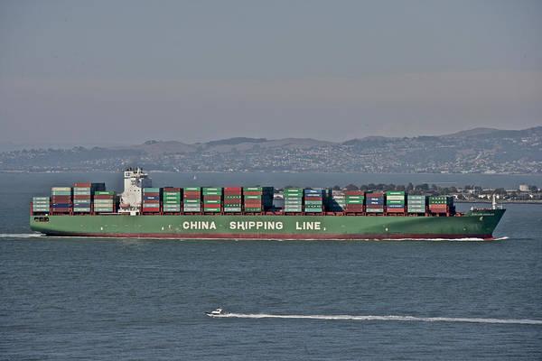 Photograph - San Francisco Bay Commerce by Steven Lapkin
