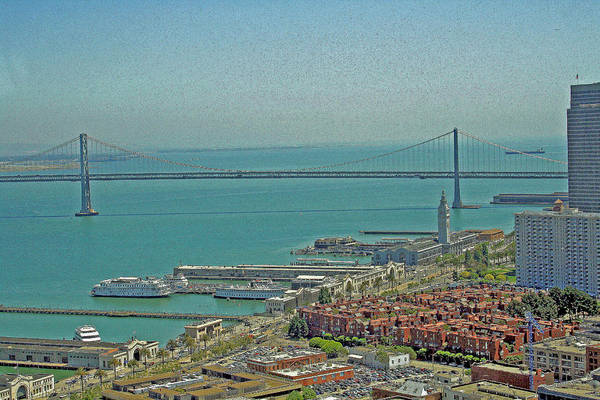 Photograph - San Francisco Bay Mural by Joseph Coulombe