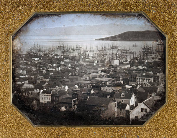 Photograph - San Francisco, C1850 by Granger