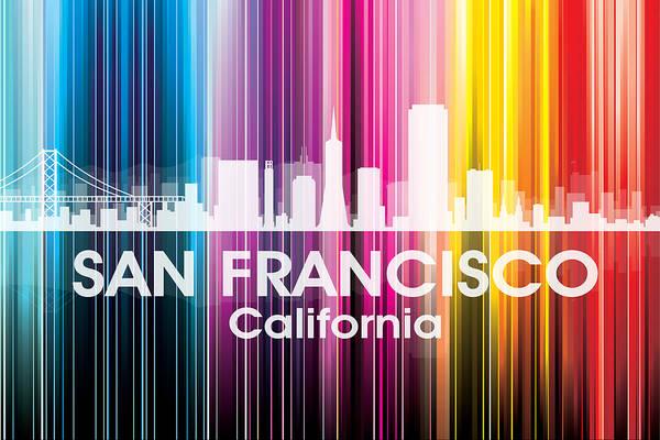 Metropolis Mixed Media - San Francisco Ca 2 by Angelina Tamez