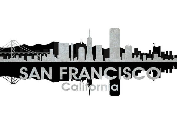 Metropolis Mixed Media - San Francisco Ca 4 by Angelina Tamez