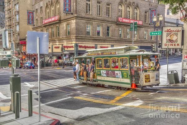 Photograph - San Francisco Cable Car by Susan Leonard