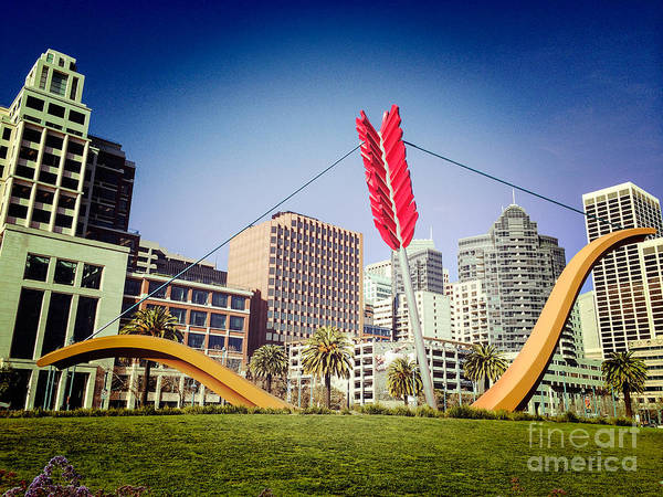 Span Wall Art - Photograph - San Francisco Cupid's Span by Colin and Linda McKie