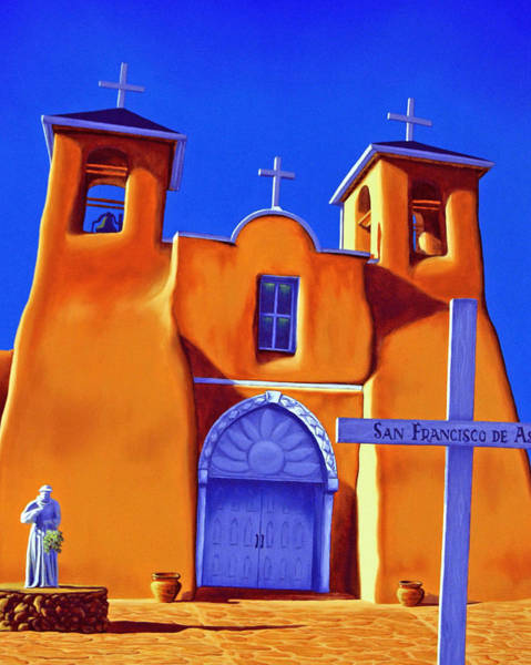 Painting - San Francisco De Asis by Cheryl Fecht