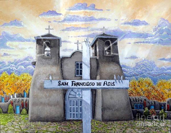 Painting - San Francisco De Asis by Santiago Chavez