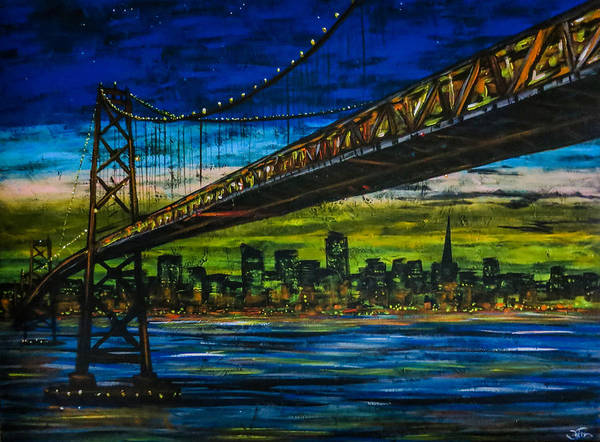 Painting - San Francisco Farewell by Joel Tesch