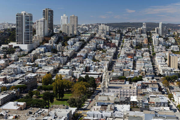 Coit Tower Photograph - San Francisco From Coit Tower by Rogertwong