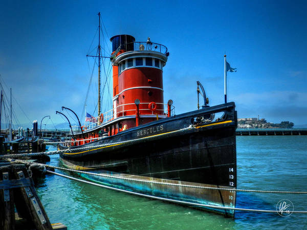 Photograph - San Francisco - Hyde Street Pier - Hercules by Lance Vaughn