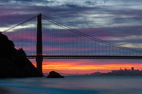 Photograph - San Francisco On Fire by Andy Bitterer