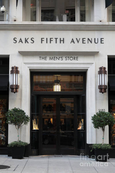Saks Fifth Avenue Wall Art   Photograph   San Francisco Saks Fifth Avenue  Store Doors