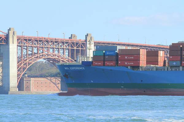 Photograph - San Francisco Shipping by Steven Lapkin