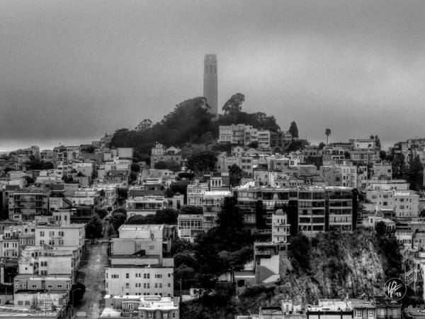Photograph - San Francisco - Telegraph Hill 001 by Lance Vaughn